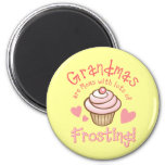 Grandma's Frosting Refrigerator Magnets