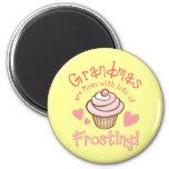 Grandma's Frosting Refrigerator Magnets