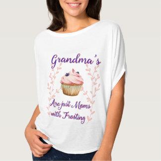 Grandma's Frosting Typography T-Shirt