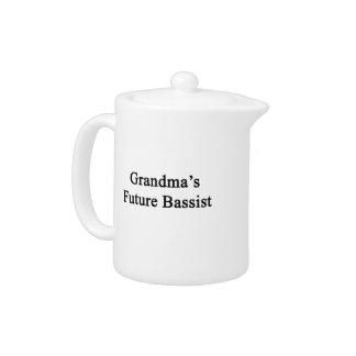 Grandma's Future Bassist Teapot