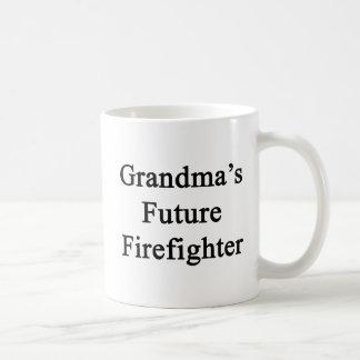 Grandma's Future Firefighter Coffee Mug