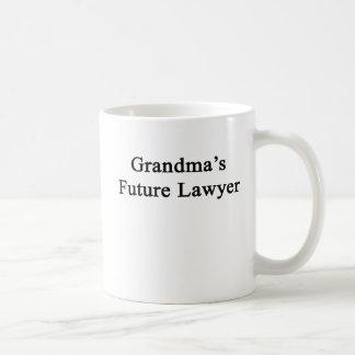 Grandma's Future Lawyer Coffee Mug