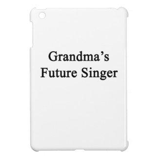Grandma's Future Singer Cover For The iPad Mini