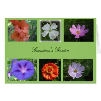 Grandma's Garden Card