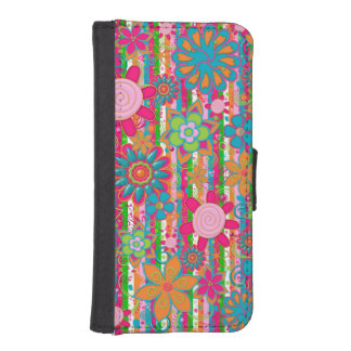Grandmas Garden iPhone 5/5s Wallet Case