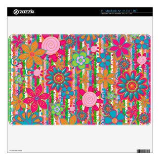 Grandmas Garden-Macbook Air Skin 11 inch Skins For MacBook Air