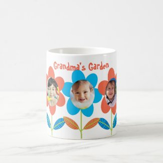 Grandma's Garden Photo Coffee Mug