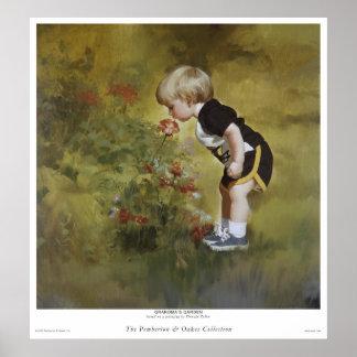Grandma's Garden Poster