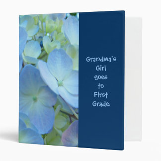 Grandma's Girl goes to First Grade! binders Floral