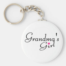 Grandmas Girl Keychain
