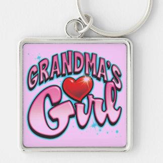 Grandma's Girl Keychain