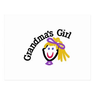 Grandma's Girl Postcard