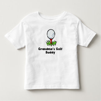 Grandma's Golf Buddy Toddler T-shirt