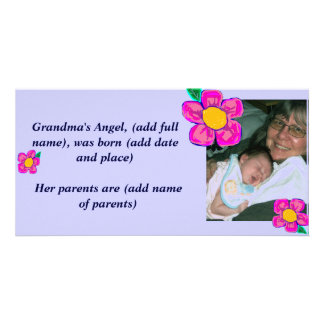 Grandma's Grandchild Announcement