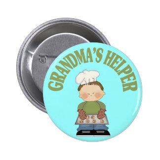 Grandma's Helper Pinback Button