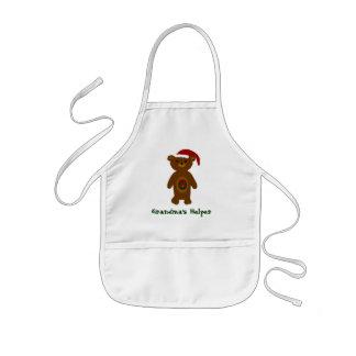 Grandma's Helper Christmas Apron - Kids' Apron