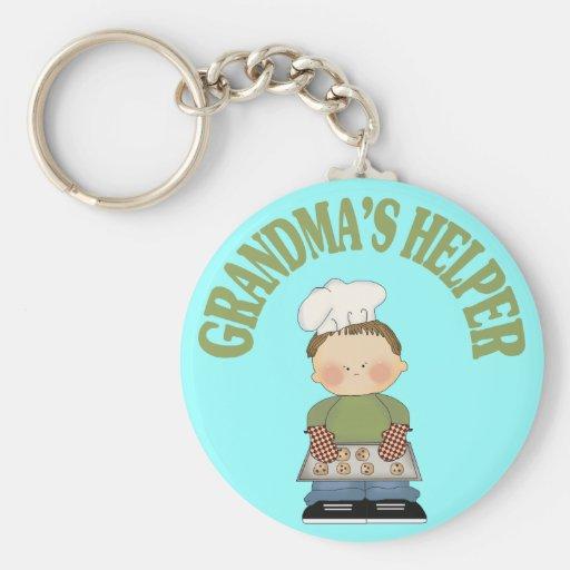Grandma's Helper Key Chains