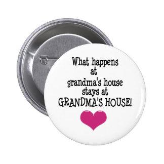 Grandma's House 2 Inch Round Button
