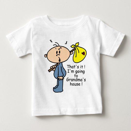 Grandma's House Baby (BLUE) Baby T-Shirt