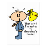 Grandma's House Baby (BLUE) Postcards