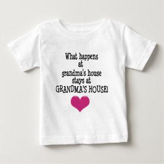 Grandma's House Baby T-Shirt