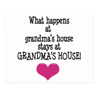 Grandma's House Postcard