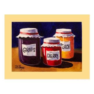 Grandma's Jelly Jars Post Card