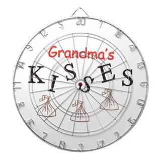Grandma's Kisses Dart Board