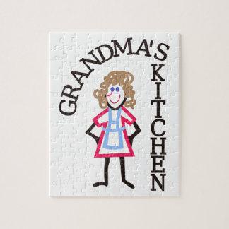 Grandma's Kitchen Jigsaw Puzzles