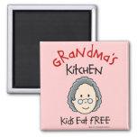 Grandma's Kitchen Magnet