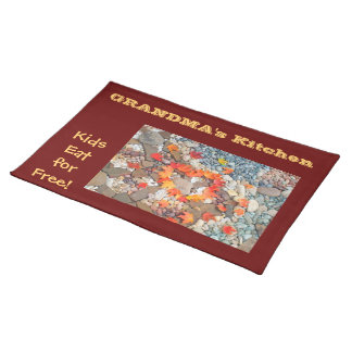 Grandma's Kitchen placemats Kids Eat for Free