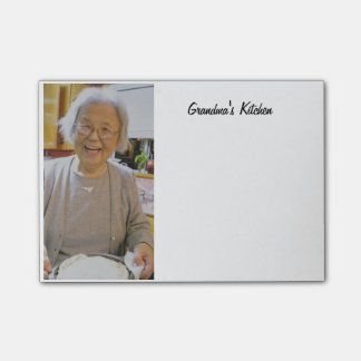Grandma's Kitchen Post-it® Notes