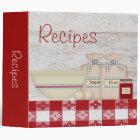 Grandma's Kitchen Recipe Binder