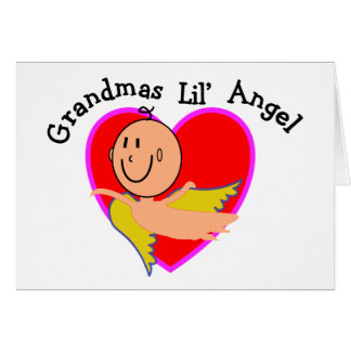 Grandmas Lil Angel T-Shirts & Gifts Cards