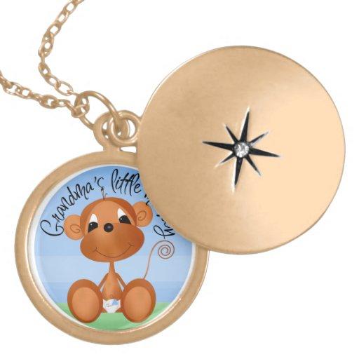 Grandma's Lil Monkey Necklace