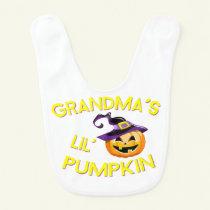 Grandma's Lil' Pumpkin Baby Bib