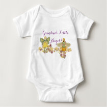 Grandma's Little Angel Baby Bodysuit