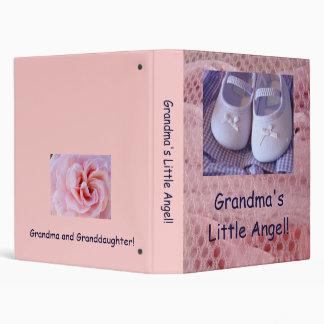 Grandma's Little Angel! binder Granddaughter photo