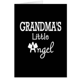 Grandma's little angel cards