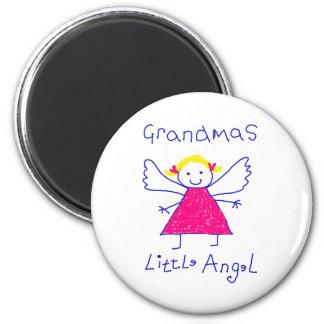 Grandma's Little Angel Magnet