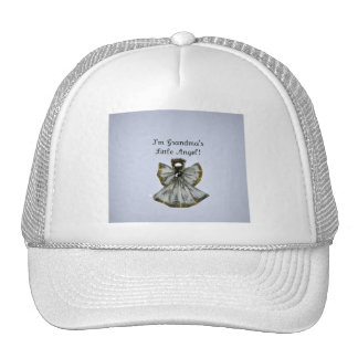 Grandma's little angel mesh hat
