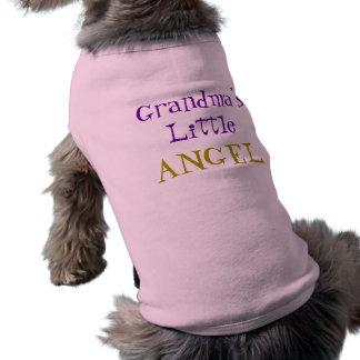 Grandma's Little Angel Pet Shirt