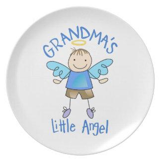 GRANDMAS LITTLE ANGEL DINNER PLATE