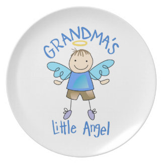 GRANDMAS LITTLE ANGEL PLATE