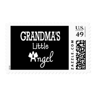 Grandma's little angel postage stamp