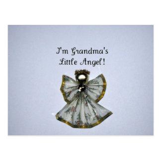Grandma's little angel postcard
