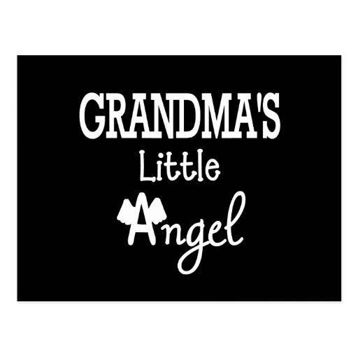 Grandma's little angel post cards
