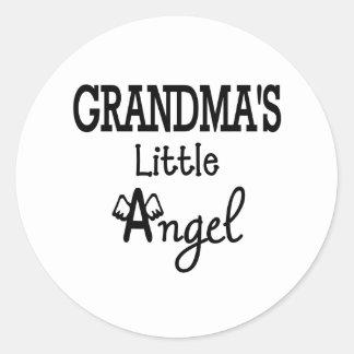 Grandma's little angel sticker