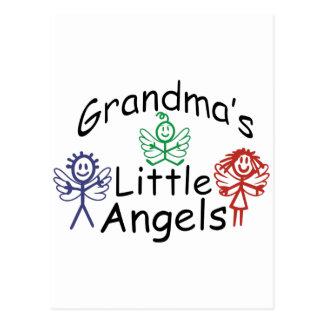 Grandmas Little Angels Postcard
