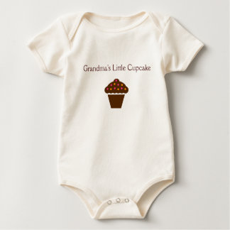 """""""Grandma's Little Cupcake"""" - adorable baby outfit Baby Bodysuit"""